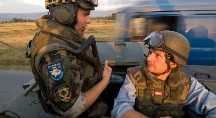 Michael Gleich im Kosovo